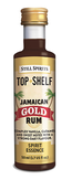 still spirits top shelf liquor flavour homebrew Jamaican gold rum