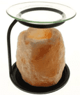 Natural himalayan salt tealight holder oil burner