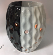 black white oil burner tealight