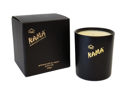 scented candle kama fragrance